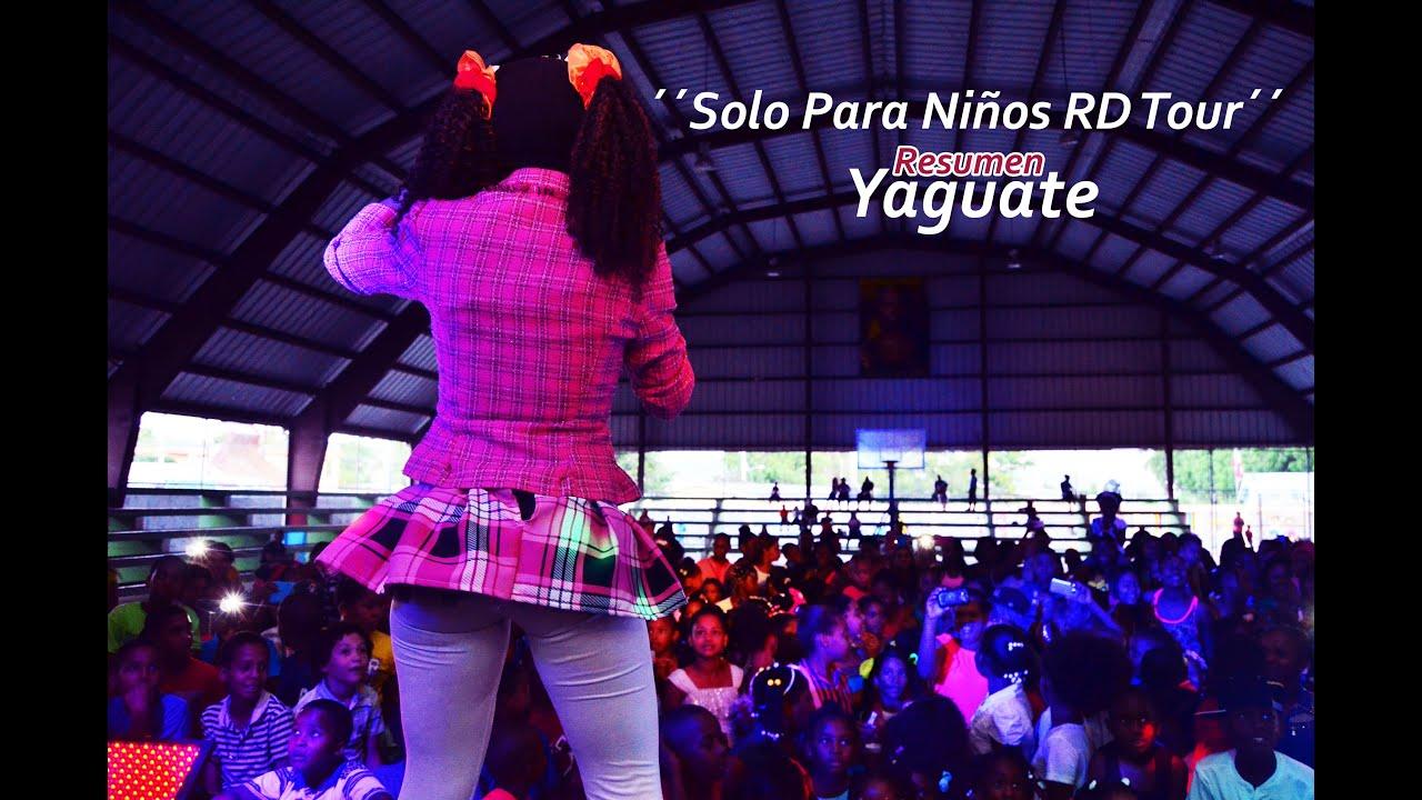 Mimi XZ -  Solo Para Niños RD Tour/ Resumen Yaguate