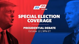 President Trump and Joe Biden square off in final presidential debate
