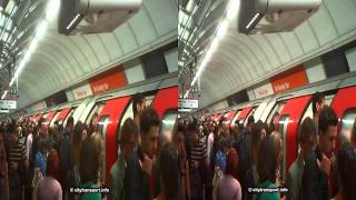 preview picture of video '3D Oxford Circus Stationn Platform Overload!'