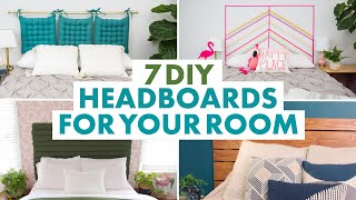 Headboard DIYs To Make Your Bedroom #Goals - HGTV Handmade