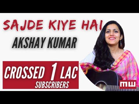 Sajde Kiye Hain Lakhon Guitar Lesson | Simple Guitar Chords | Akshay Kumar | KK | Sunidhi Chauhan |