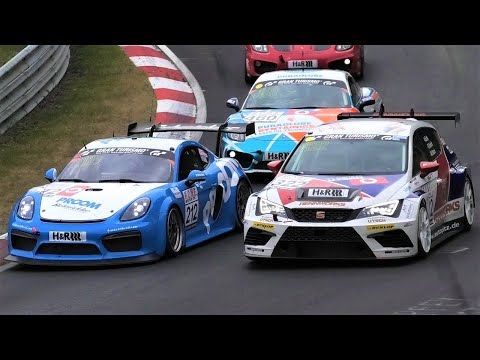 CRASH + ACTION! VLN 4 at Nürburgring Nordschleife 2019