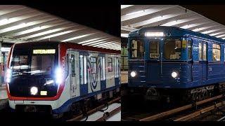 Еж3 и Москва на ТКЛ - Выхино
