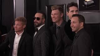 Backstreet Boys On The Red Carpet | 2019 GRAMMYs