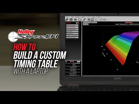 How To Build A Custom Timing Table - Sniper EFI