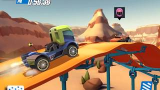 HOT WHEELS RACE OFF All Hot Wheels Unlocked incl High Speed Set Gameplay Android / iOS