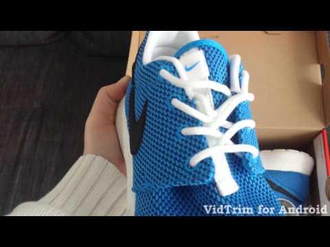 Nike Rosherun Schuhe Tutorial