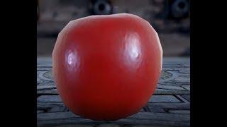 Apple Kaiju Destroys Gotham