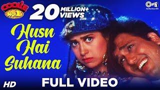 Husn Hai Suhana - Coolie. No 1 | Govinda & Karisma Kapoor | Abhijeet & Chandana Dixit