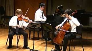 Haydn Piano Trio in G major Harry Chris Michael
