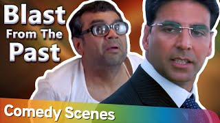 Blast From The Past  | Hindi Comedy Scenes Welcome & Pher Hera Pheri - Paresh Rawal - Akshay Kumar