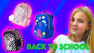 BACK TO SCHOOL 2017 новый рюкзак шоппинг barvina vlog