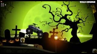 Машинка #хэллоуин #монстр-трак #мультик / #Toycar # Halloween # monster-truck #cartoonmarch 1