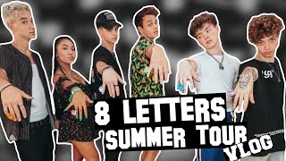 MEETING WHY DONT WE   8 LETTERS SUMMER TOUR VLOG | Paso Robles Show