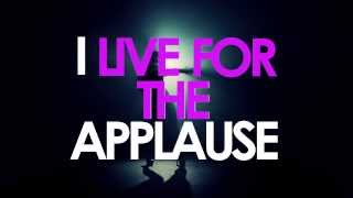 [LYRIC VIDEO] LADY GAGA  APPLAUSE (HD)