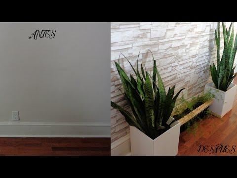 Cómo colocar papel tapiz auto-adhesivo / papel pintado