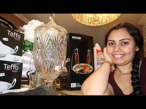 مشتريات راقية ❤ للمطبخ من أرخص محل  تركي بروكسيل kadizi و HOme de luxe