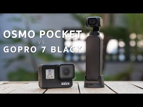 DJI Osmo Pocket Vs. GoPro Hero 7 Black | Which Camera Is REALLY BETTER? Mp3
