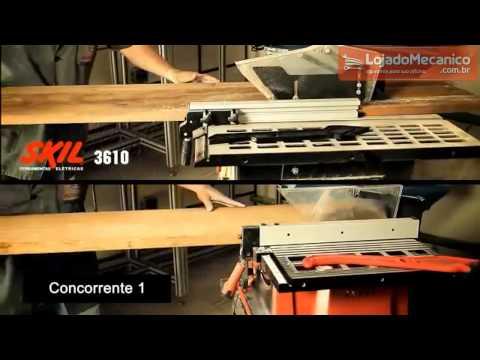 Serra de Bancada 10 Pol.  1600W - Video