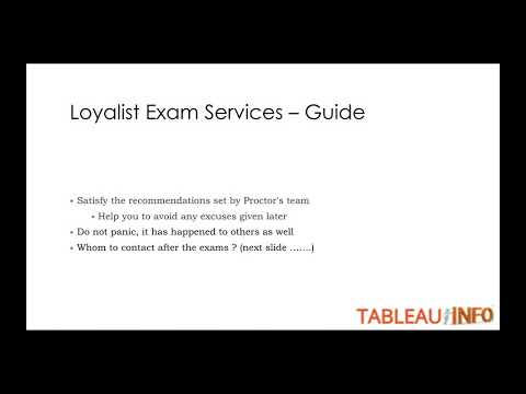 (Min Hardware req and Tips ) -Tableau Exam - YouTube