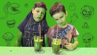 Готовим ЗОМБИ ВИРУС своими руками | Кухня-Шмухня для детей