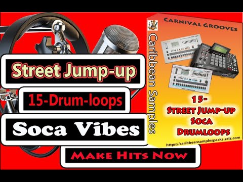 15-Street Jump-up Soca Drum-loops