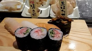 大阪1人呑み日記102話 ¥780晩酌握りセット 立食い寿司 魚河岸日本一