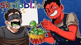 EAT YOUR VEGGIES OHM! | Skribbl.io: Pictionary Game (w/ Ze, Gorilla, Ohm, & Squirrel)