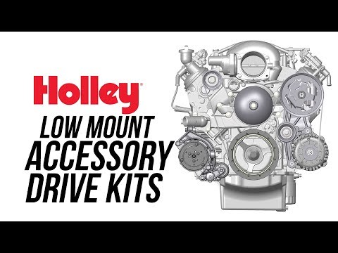 Holley Low Mount Accessory Drive Kits