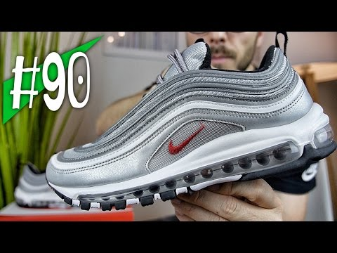 "#90 - 2016 NIKE AIR MAX 97 OG QS ""Silver Bullet"" - Review/on feet - sneakerkult"