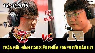[CKTG 2019] SKT vs RNG Highlights   Macro đỉnh cao, đánh nhau mãn nhãn giữa 2 vị thần Faker vs Uzi