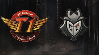 SKT vs G2 | Semifinals Game 1 | 2019 Mid-Season Invitational | SK telecom T1 vs. G2 Esports