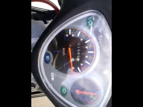 sym bonus 110 top speed