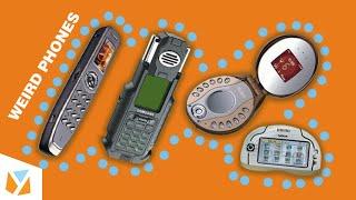 10 WEIRDEST Phones Ever Created