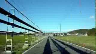 大石田町次年子から大蔵村肘折温泉までの車載動画2010.11.27