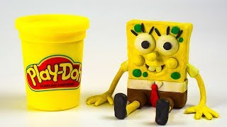 It's the Making of Spongebob Squarepants Stop-Motion Day Play-Doh