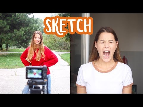 Čo mám a nemám rada na youtube SKETCH | Patra Bene