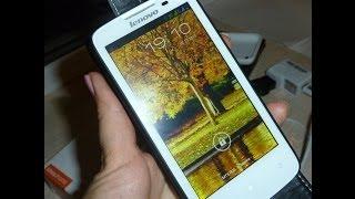 Мой новый любимчик :телефон Lenovo A820 c Алиэкспресс