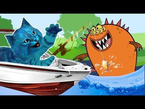Счастье есть - Прыгаю с лодки! Поймал ОГРОМНОГО ОКУНЯ! Ем бутеры!