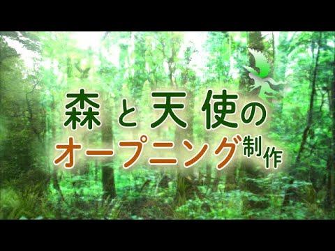 今だけ限定価格!オープニング動画制作★自然ます 幻想的な森の背景の動画オープニングを制作しました。 イメージ1