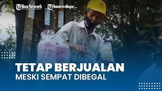 Curhat Kakek Penjual Arum Manis di Bogor, Tetap Jualan Meski Sempat Dibegal