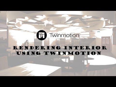 SPEED BUILD 12 - BEDROOM (TWINMOTION 2019 RENDER) - Iban - Video