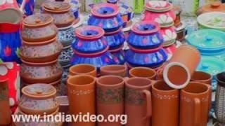 Blue Pottery from Uttar Pradesh
