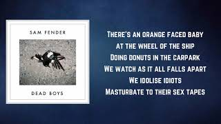 Sam Fender   Poundshop Kardashians (Lyrics)