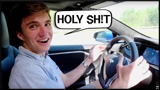 Testing AUTOPILOT on the Tesla Model S!