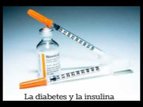 Cartel sobre la diabetes