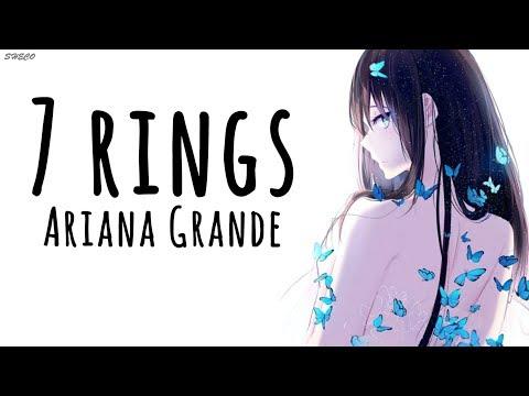 「Nightcore」→ 7 rings ♪ (Ariana Grande) LYRICS ✔︎