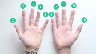 Nine times table   Multiplication hand trick