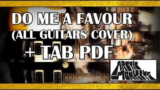 Arctic Monkeys   Do Me A Favour Guitar Cover With TABS