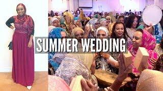 I LOVE MY CULTURE! | Summer Wedding Vlog | Aysha Abdul